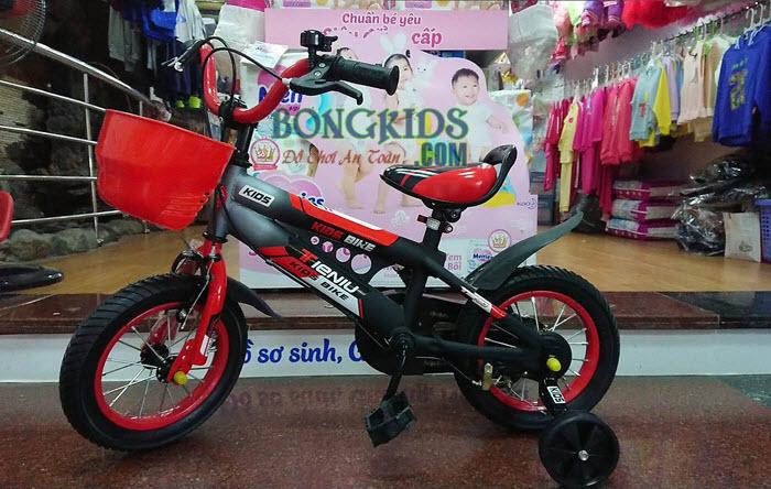 Xe đạp trẻ em Thiết Ngưu đỏ