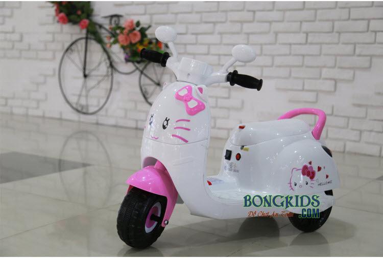 Xe máy điện trẻ em Vespa Kitty KL-6588 màu hồng