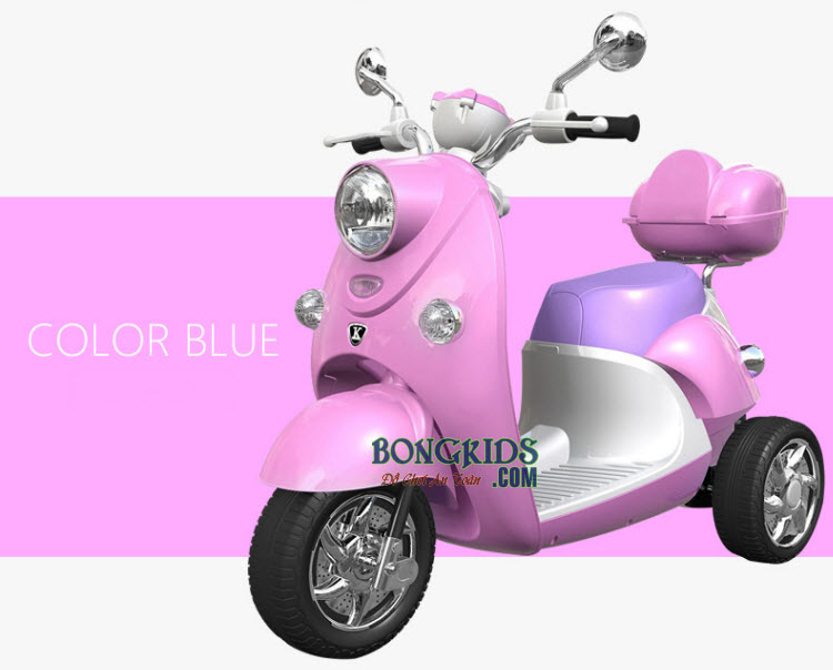xe máy điện trẻ em vespa cao cấp
