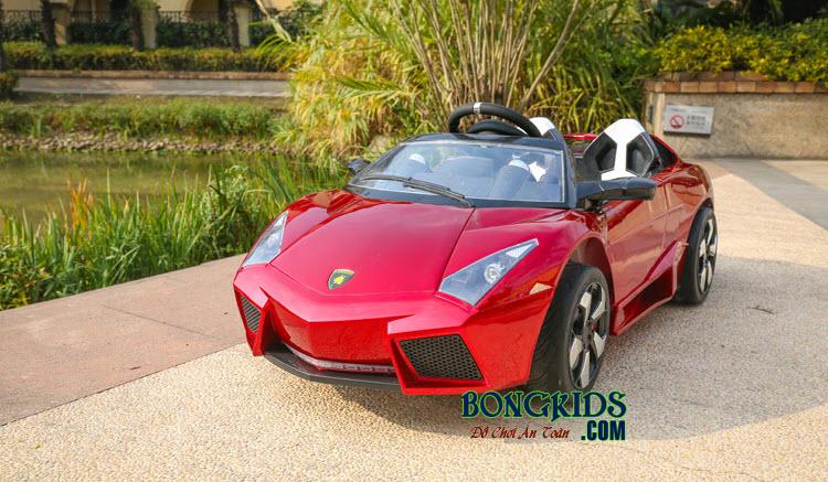 Xe ôtô điện LS 518 cho trẻ em màu đỏ