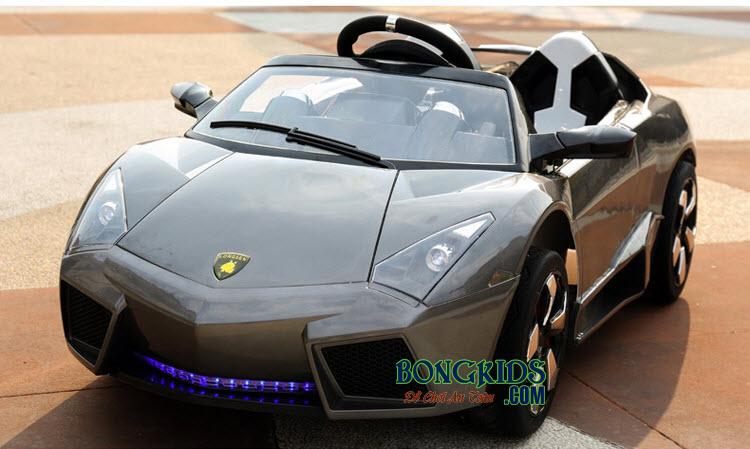 Xe ô tô điện trẻ em LS-518 màu ghi