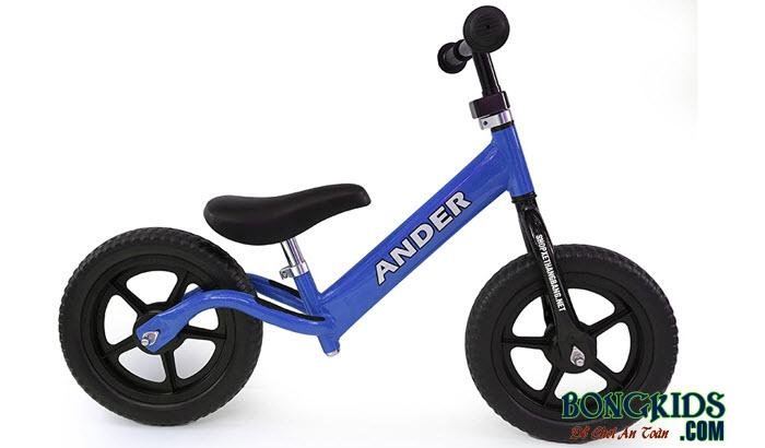 Xe thăng bằng cho bé Ander Basic màu xanh dương