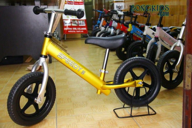 Xe thăng bằng cho bé Speedy S màu vàng