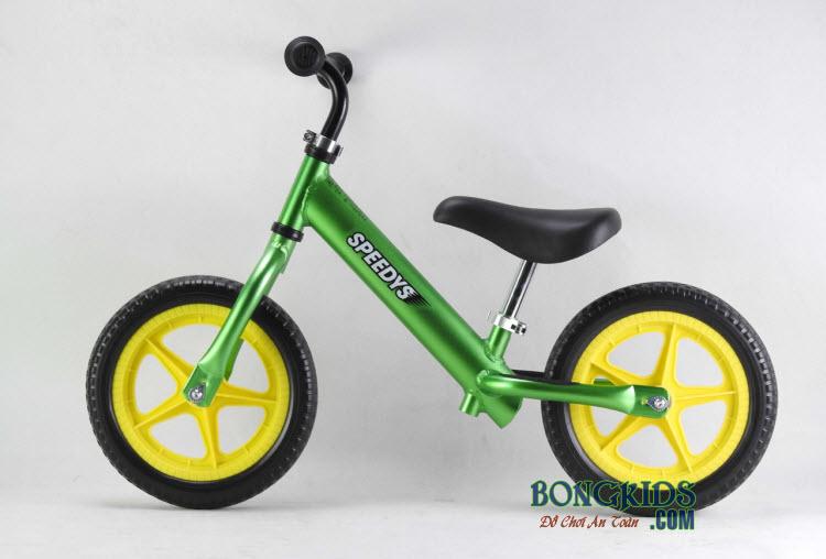 Xe thăng bằng cho bé Speedy S màu xanh