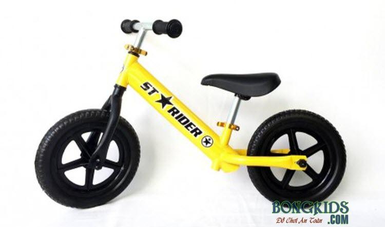Xe thăng bằng cho bé Starider Sport màu vàng
