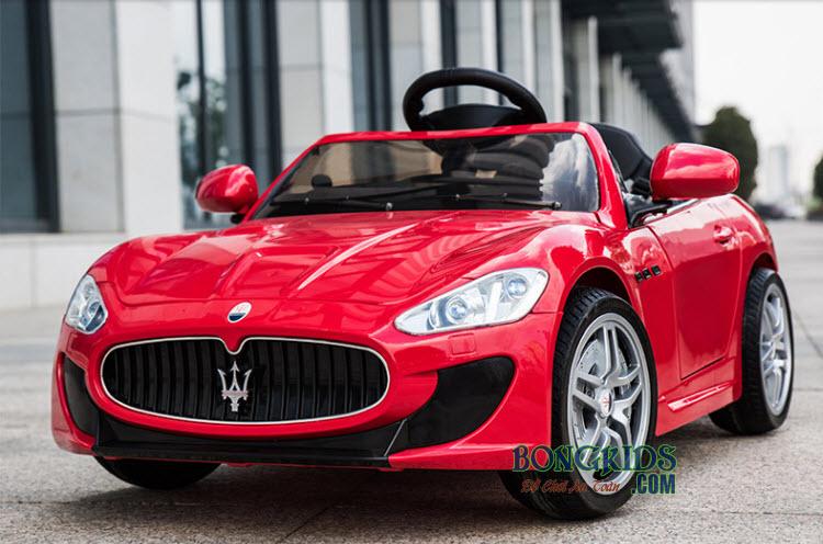 Xe hơi điện trẻ em Maserati CT-528 màu đỏ