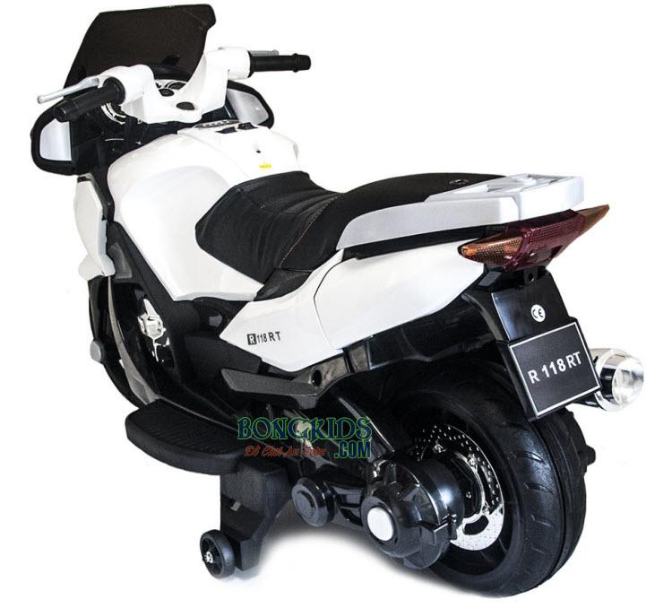 Xe máy điện trẻ em HZB-118 biển số