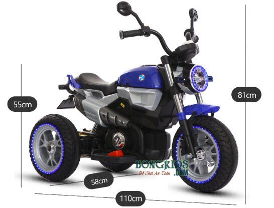 Xe máy điện trẻ em BQ-8188 - Size