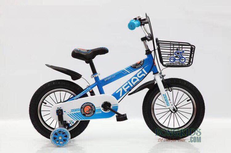 Xe đạp cho bé màu xanh