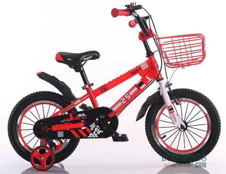 Xe đạp trẻ em Phoenix màu đỏ