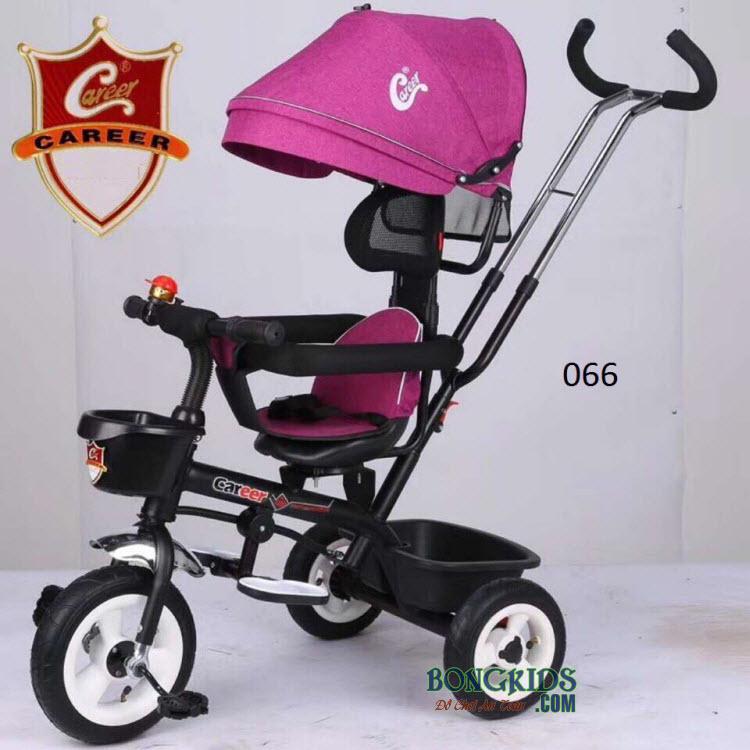 Xe đạp 3 bánh 066 màu hồng