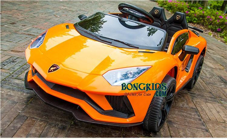 Xe ô tô điện trẻ em LT-998 màu cam