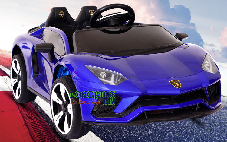 Xe ô tô điện trẻ em LT-998 màu xanh