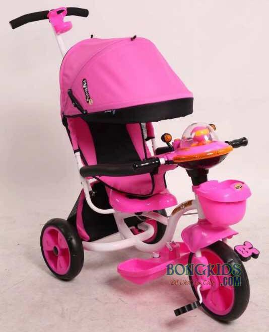 Xe đạp 3 bánh trẻ em FK-007 màu hồng
