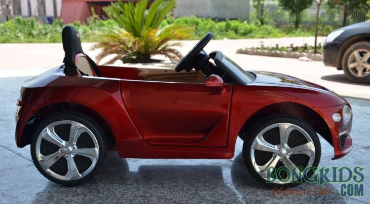 Xe ô tô điện trẻ em Bentley 8203 màu đỏ đẹp