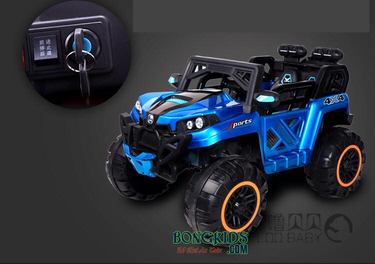 Xe ô tô điện trẻ em BQ-2188 màu xanh