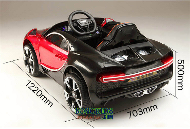 Kích thước xe ô tô điện trẻ em BDQ-1188