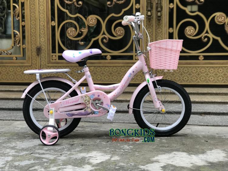 Xe đạp nàng tiên cá cho bé gái-158 sẽ là món quà tuyệt vời cho bé gái