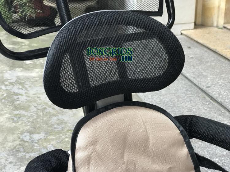 Xe đạp 3 bánh trẻ em DS-138 có tựa lưng bằng lớp lưới thoáng mát
