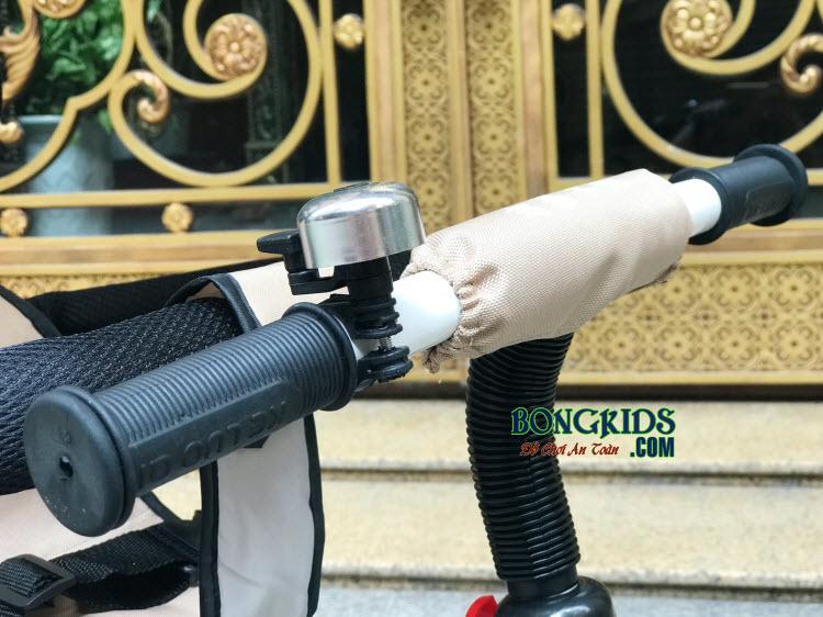 Xe đạp 3 bánh trẻ em DS-138 có tay lái chắc chắn và chuông báo hiệu