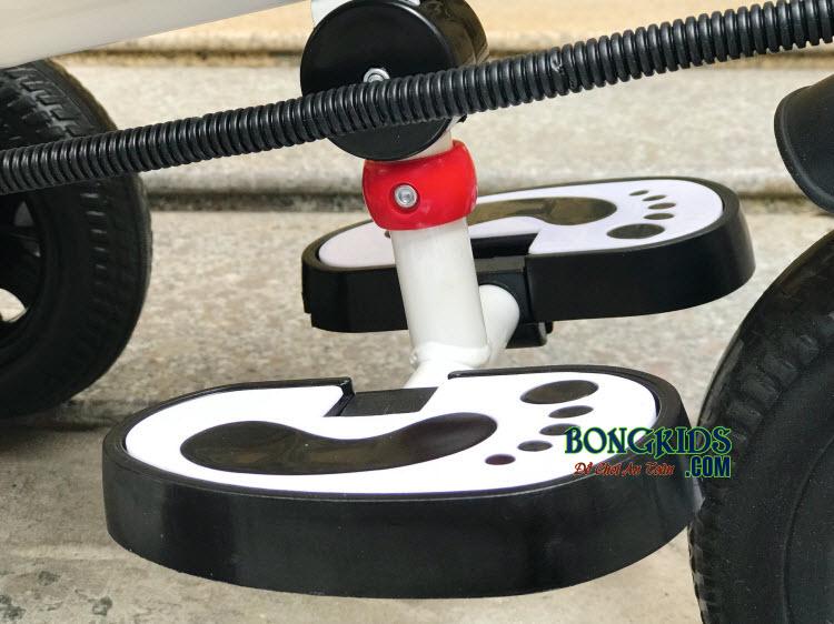Xe đạp 3 bánh trẻ em DS-138 có chỗ cho bé để chân