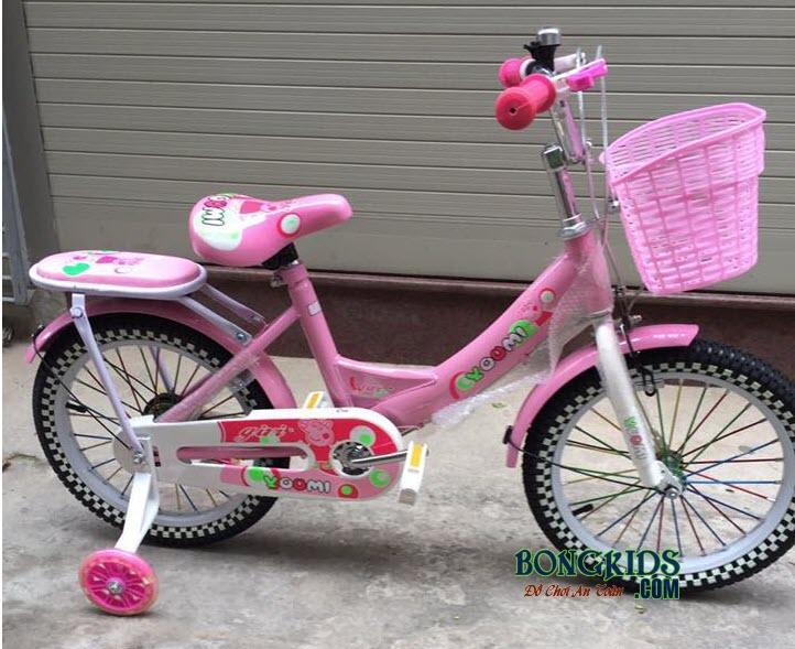 Xe đạp Youmi cho bé gái 66A là món quà tuyệt vời cho con