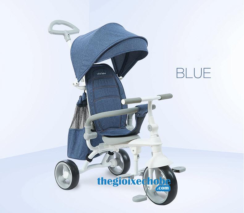 Xe ba bánh trẻ em HSR-199 màu xanh lục
