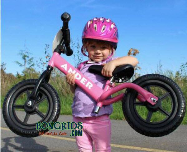 Xe thăng bằng cho bé Ander Pro màu hồng