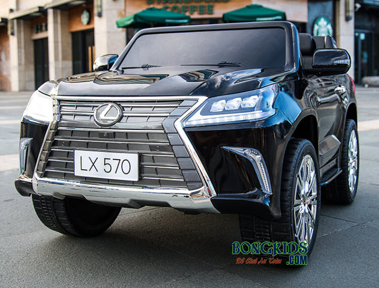 Xe ô tô điện trẻ em LX-570 màu đen
