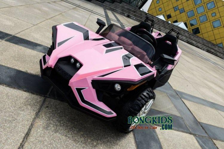 Xe ô tô điện trẻ em Mpappe-JC 888 màu hồng