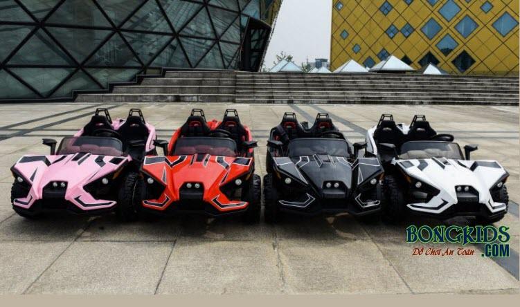 Xe ô tô điện trẻ em Mpappe-JC 888 có màu sắc phong phú cho bé thỏa sức lựa chọn
