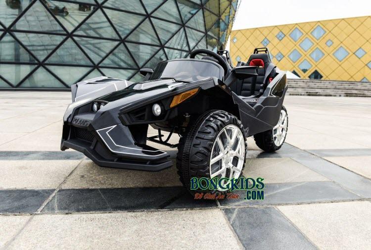Xe ô tô điện trẻ em Mpappe-JC 888 màu đen