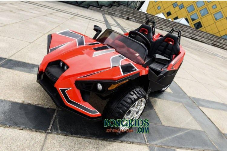 Xe ô tô điện trẻ em Mpappe-JC 888 màu đỏ