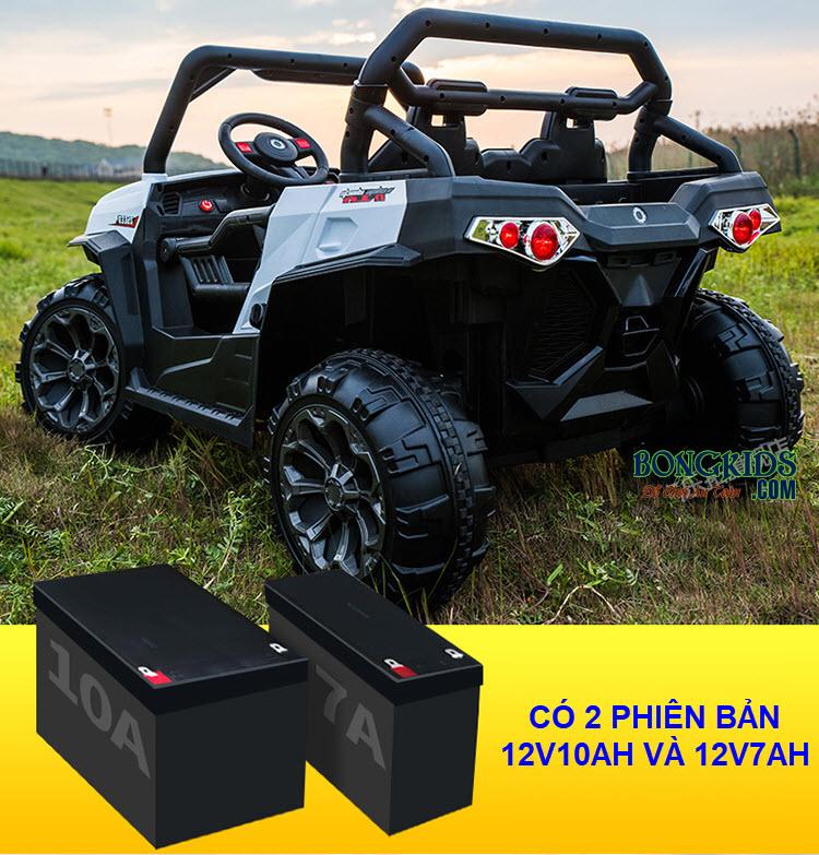 Xe ô tô điện trẻ em 4 động cơ WXE-8988 có bình ắc quy lớn
