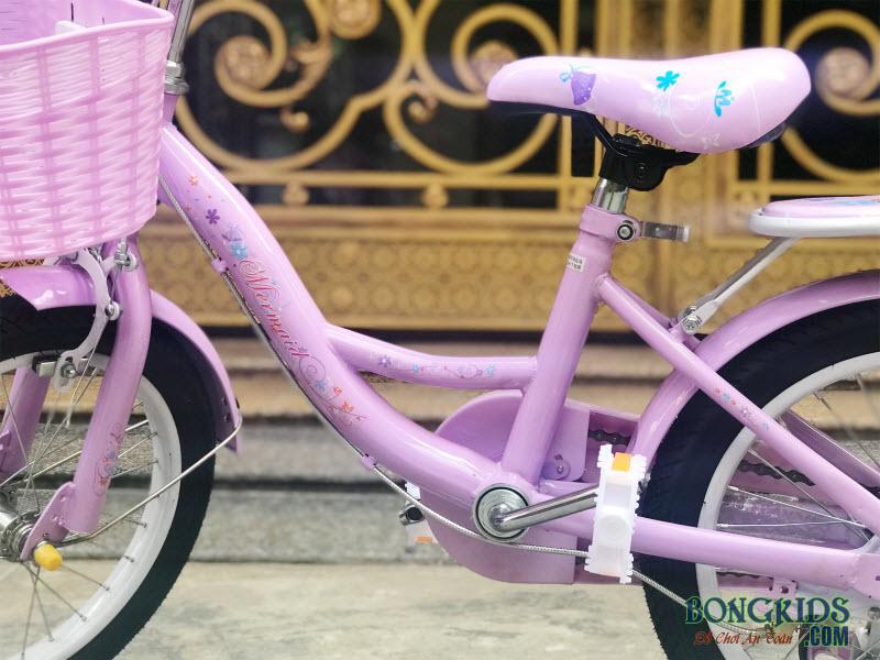 Xe đạp tiên cá đẹp