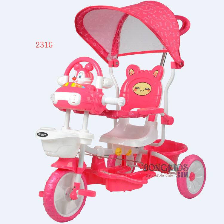 Kích thước Xe đạp 3 bánh trẻ em 231G