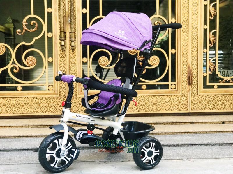 Xe đạp 3 bánh DS-138 tím