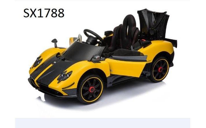 Xe ô tô điện trẻ em Sx-1788 cộp sau có thể mở đươc