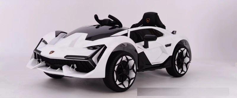 Xe ô tô điện trẻ em Nel-603 màu trắng