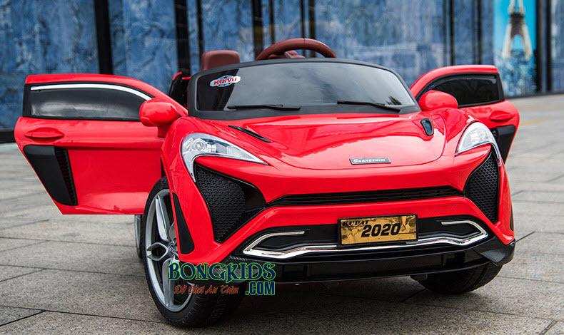 Xe hơi điện trẻ em 2020 màu đỏ