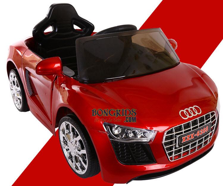 Xe ô tô điện trẻ em 6288 màu đỏ