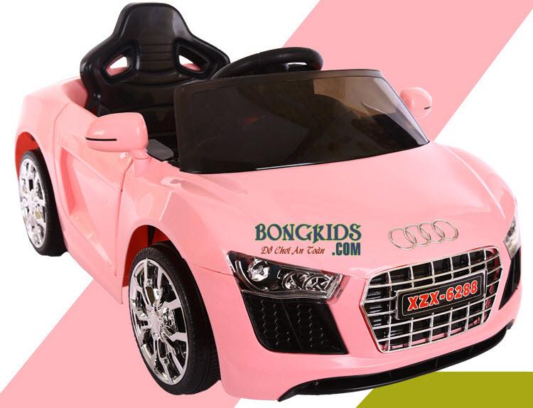 Xe ô tô điện trẻ em 6288 màu hồng
