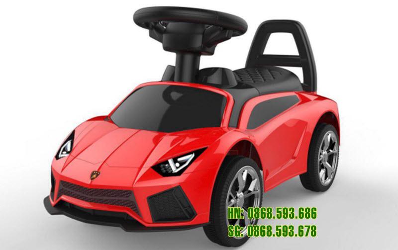 Xe chòi chân ô tô cho bé BDQ-5188 màu đỏ