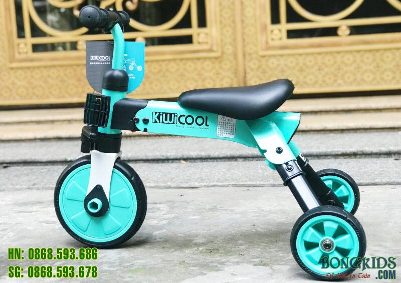 Xe đạp 3 bánh trẻ em AH-003 màu xanh ngọc