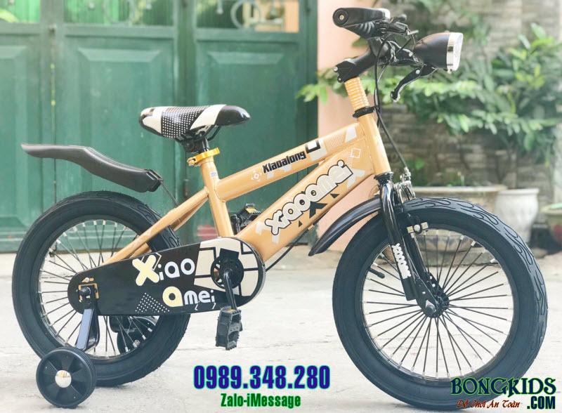 Xe đạp trẻ em XAL màu đồng size 16 inch
