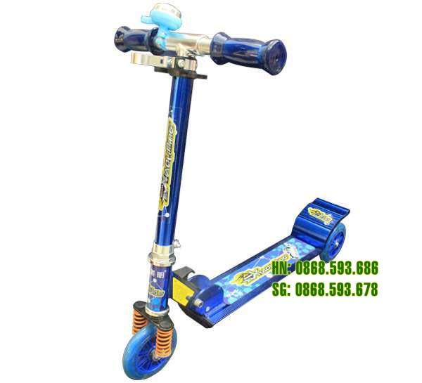 Xe trượt Scooter 200C màu xanh