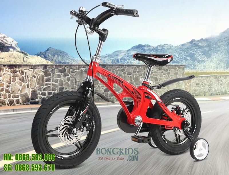 Xe đạp trẻ em LANQ46 màu đỏ