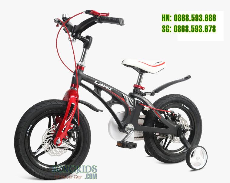 Xe đạp trẻ em LANQ 46 màu đen