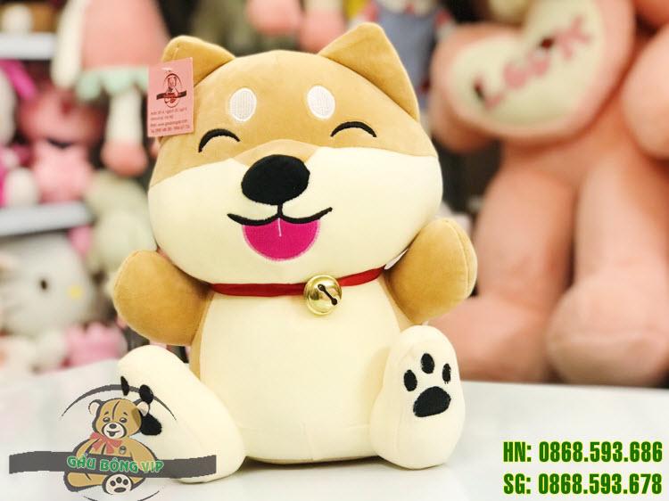 Chó Shiba ngồi chuông