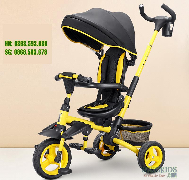 Xe 3 bánh trẻ em JY-T05 màu vàng